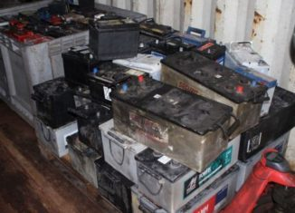 Rifiuti tossici e batterie