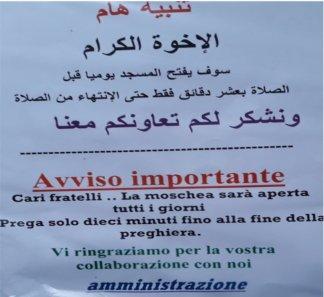 immagine-della-moschea-324x297 Moschea Milano. E' abusiva ma la pubblicizzano con dei cartelli Cronaca Milano Prima Pagina