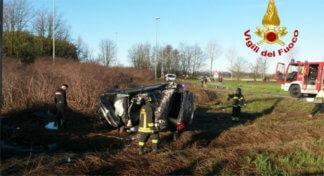carbiagoincidente-324x176 Incidente d'auto a Carpiano, morto il conducente Cronaca Milano Prima Pagina