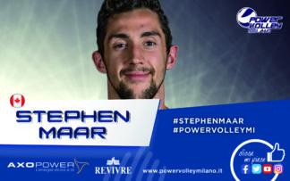 """PVM_StephenMaar-324x203 Maar si presenta in casa Revivre Milano: """"Voglio portare in alto la mia squadra"""" Pallavolo Sport"""