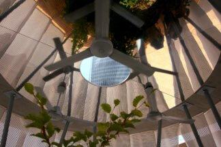 fontana d'aria CItyLife Milano sistema di areazione