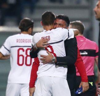 img_0056-324x311 Gattuso salvato dalla tempesta: è tornado Milan a Reggio Emilia Calcio Sport