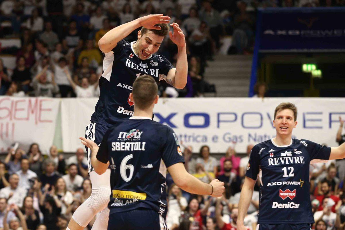 """Cebulj_MilanPerugia Bossi e Cebulj: """"Metteremo in campo la nostra grinta. Siamo un gruppo forte"""" Pallavolo Sport"""