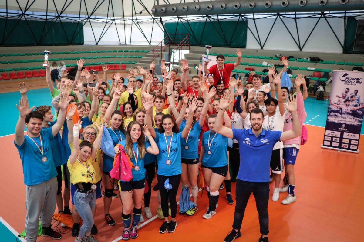 """CampioneSottoRete2 Chiusa la prima edizione dell'iniziativa """"Campione sotto Rete"""" di Powervolley Milano Altri sport Sport"""