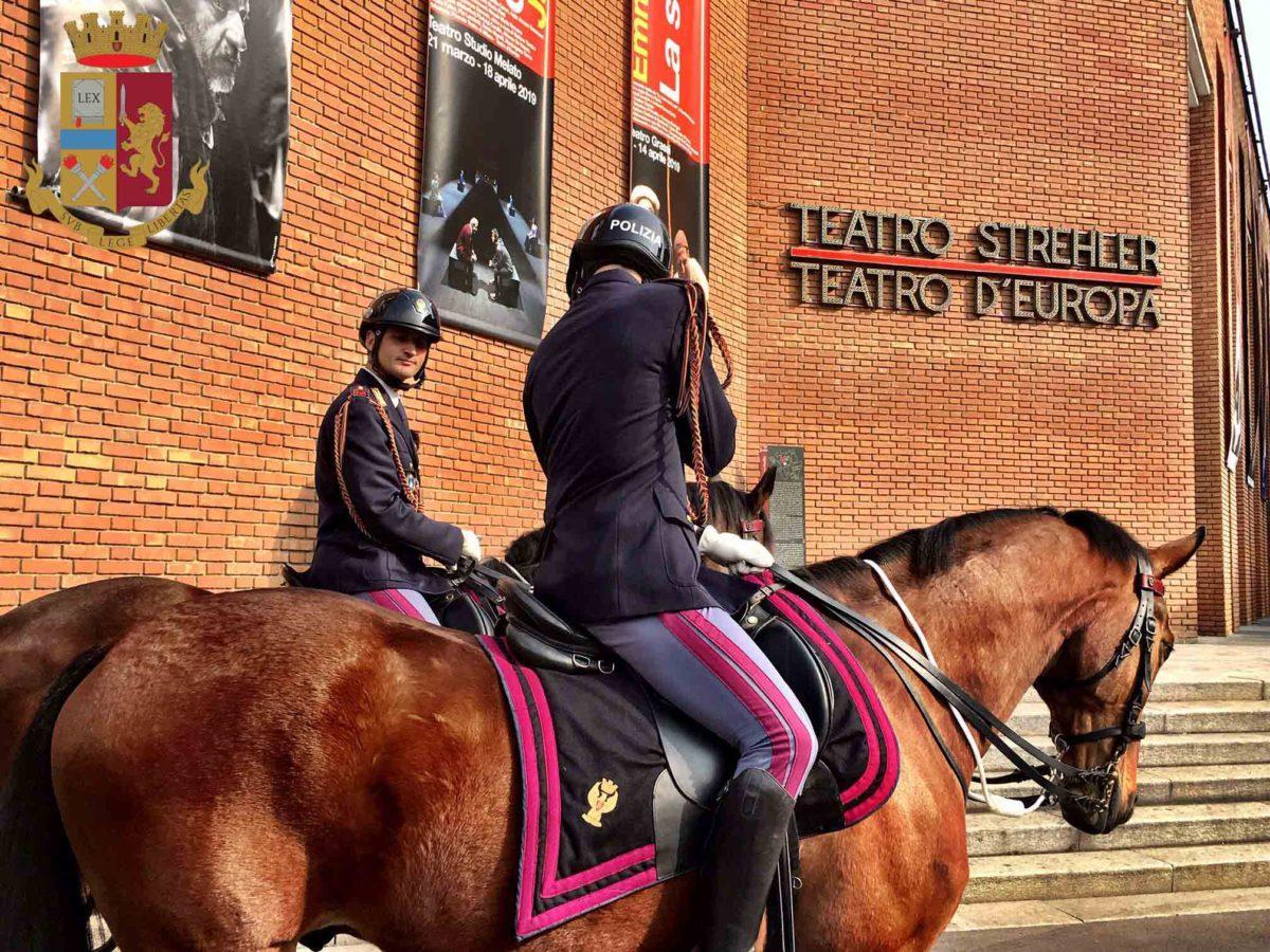 Polizia-a-cavallo Milano: 167° Anniversario della Fondazione della Polizia di Stato Milano Prima Pagina