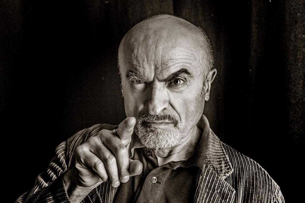 """foto-Ivano-Marescotti """"Durante"""", canzoni surreali sulla Divina Commedia con gli Equ e Ivano Marescotti Intrattenimento Teatro"""